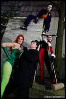 Gotham's Downfall by JoelAndrewMorgan