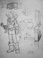 Steampunk Link Design Idea by JoelAndrewMorgan