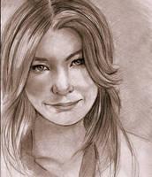 Meredith Grey by ellie-art