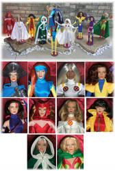 X-Men X-WOMEN 16'Tonner Dolls by SetsunaKou