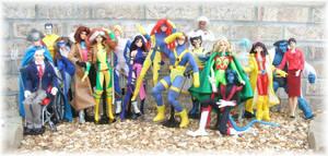 X-Men Volks Obitsu Dolls by SetsunaKou