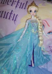 Ice Queen Elsa 16inch Custom Doll by SetsunaKou