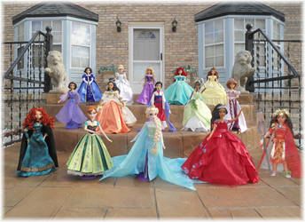 Disney Princess 16inch Custom OOAK Dolls by SetsunaKou