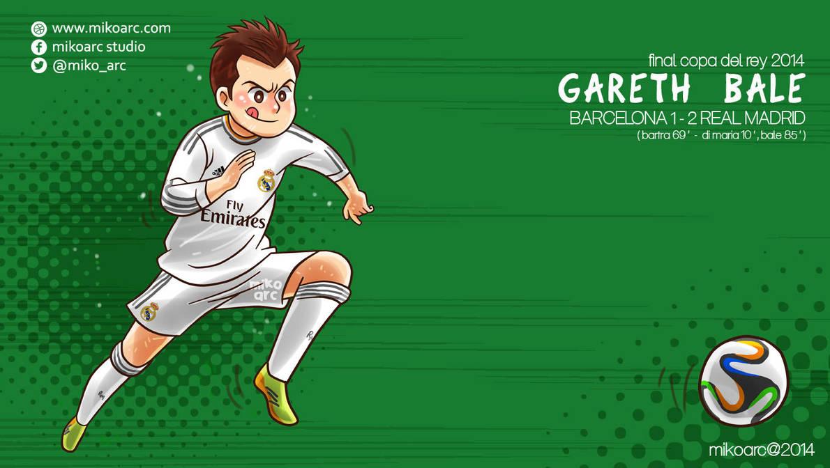 Gareth Bale In Copa Del Rey By Mikoarc On Deviantart
