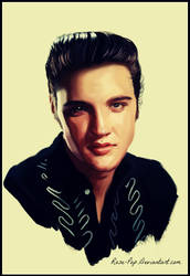 Elvis Presley by Rose-Pop