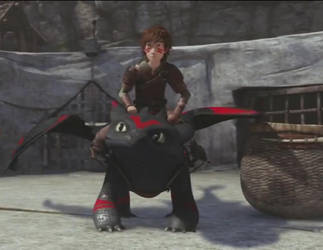 Hiccup and Toothless 105 by Toothless121