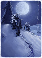 Wrightson's Winter Werewolves by Viergacht