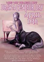 Draw a Centaur Day by Viergacht