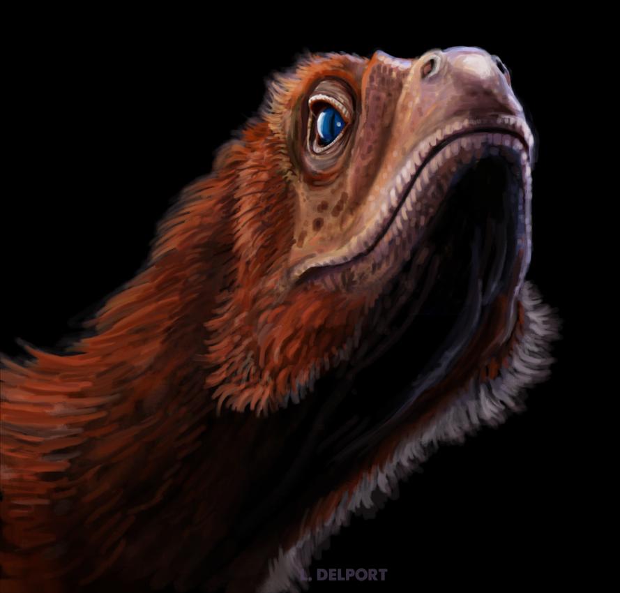 Deinonychus speedpaint by Viergacht