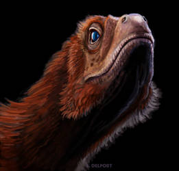 Deinonychus speedpaint by Viergacht