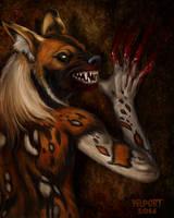 Werewolf Weds. - 6-3-14 - Wildehond by Viergacht