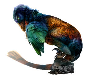 Dinovember - Dakotaraptor by Viergacht