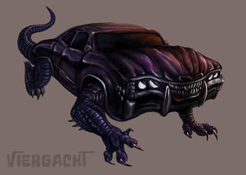 Muscle and Bone Car by Viergacht