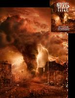 Tornado Apocalypse Premade Book Cover by Viergacht