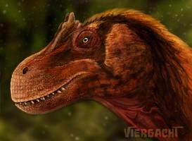 Torvosaurus gurneyi by Viergacht