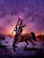Centaur Druid by Viergacht
