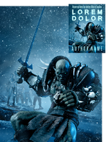 Killer Frost Premade Book Cover by Viergacht