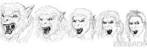 FrostFyreZero Werewolf Commish by Viergacht