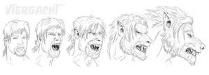 Darius Werewolf TF Sequence by Viergacht