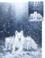 Blizzard Pups Premade Book Cover by Viergacht