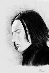 Professor Snape by afrodite