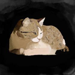 Pastel Cat by Redo19