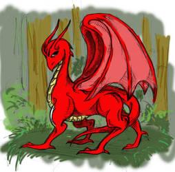 dragon by lsyw