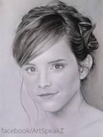 Emma Watson Study: Final Step by shosansharma