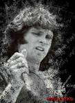Jim Morrison Poster by AndyJacko