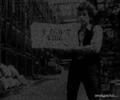 Bob Dylan ASCII Art by AndyJacko