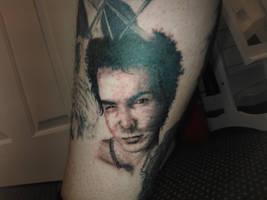 Sid Vicious tattoo... by AndyJacko
