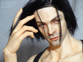 BJD - Motesto - face paint and scar by Lawrichai
