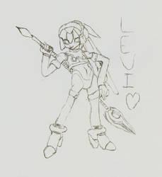 Leviathan sketch by NightmareZero99