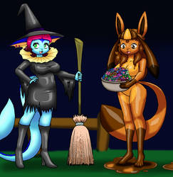 Trick Or Treat by Luigirocks84