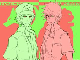 Pokemon : The Origin by Sora-Arashi
