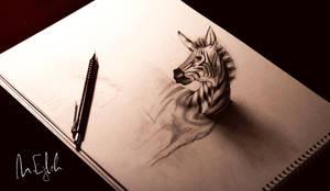 Zebra by Muhammad-Ejleh
