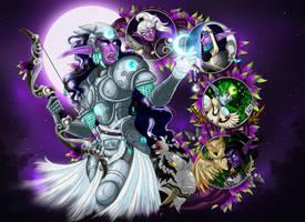 Warriors of the Night, assemble! by livroeternia