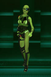 Borg Female by jaguarry3
