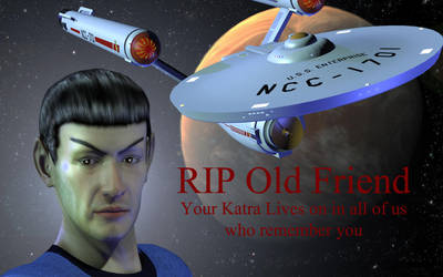 Spock RIP by jaguarry3