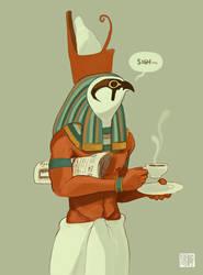 Horus by tohdraws