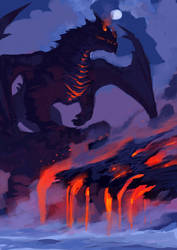 Dragon encounter by tohdraws