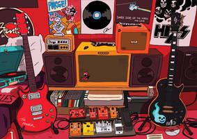 Rockstar by tohdraws