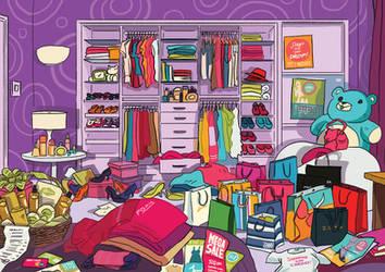 Shopaholic by tohdraws