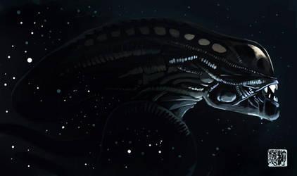 Alien by tohdraws
