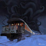 Horror On The Orient Express by tohdraws