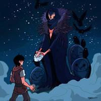 15 The Bird Witch by tohdraws