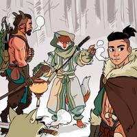 27 Snow Wizard by tohdraws