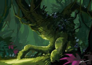 Foliage Study by tohdraws