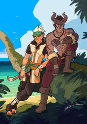 Island Adventurers by tohdraws