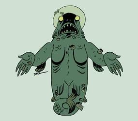 Dagon v2 by tohdraws